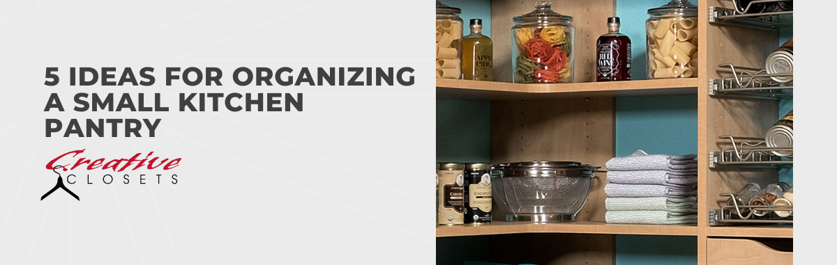 13 Ideas for Organizing a Small Kitchen Pantry