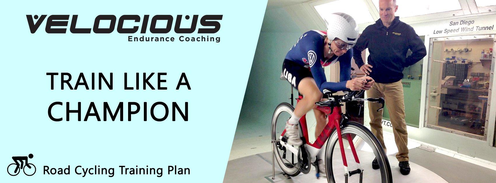 road cycling training plan