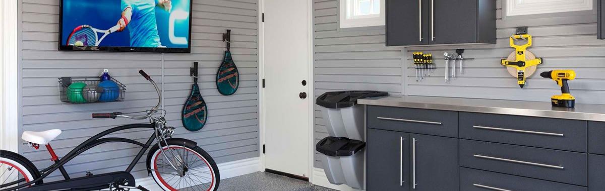 Custom Garage Slatwall System